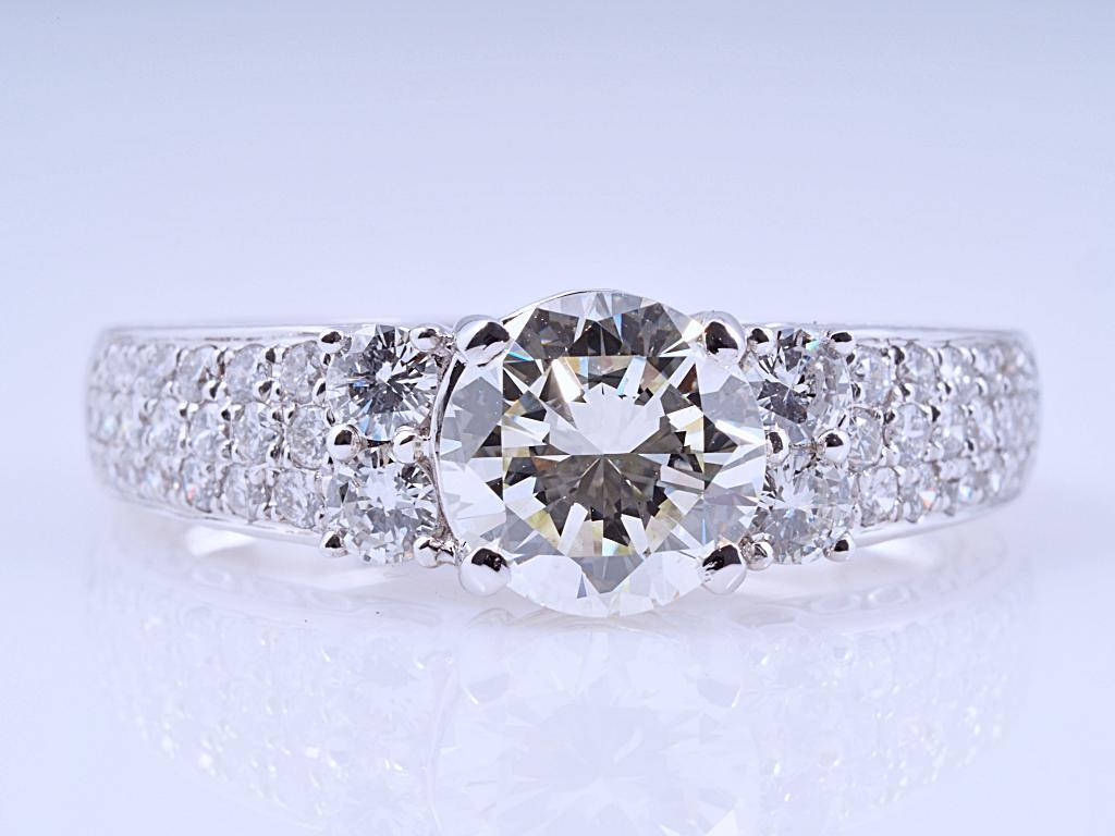 ring 1 32 karat solit r brillant 750 gold wert eur dpl expertise ebay. Black Bedroom Furniture Sets. Home Design Ideas