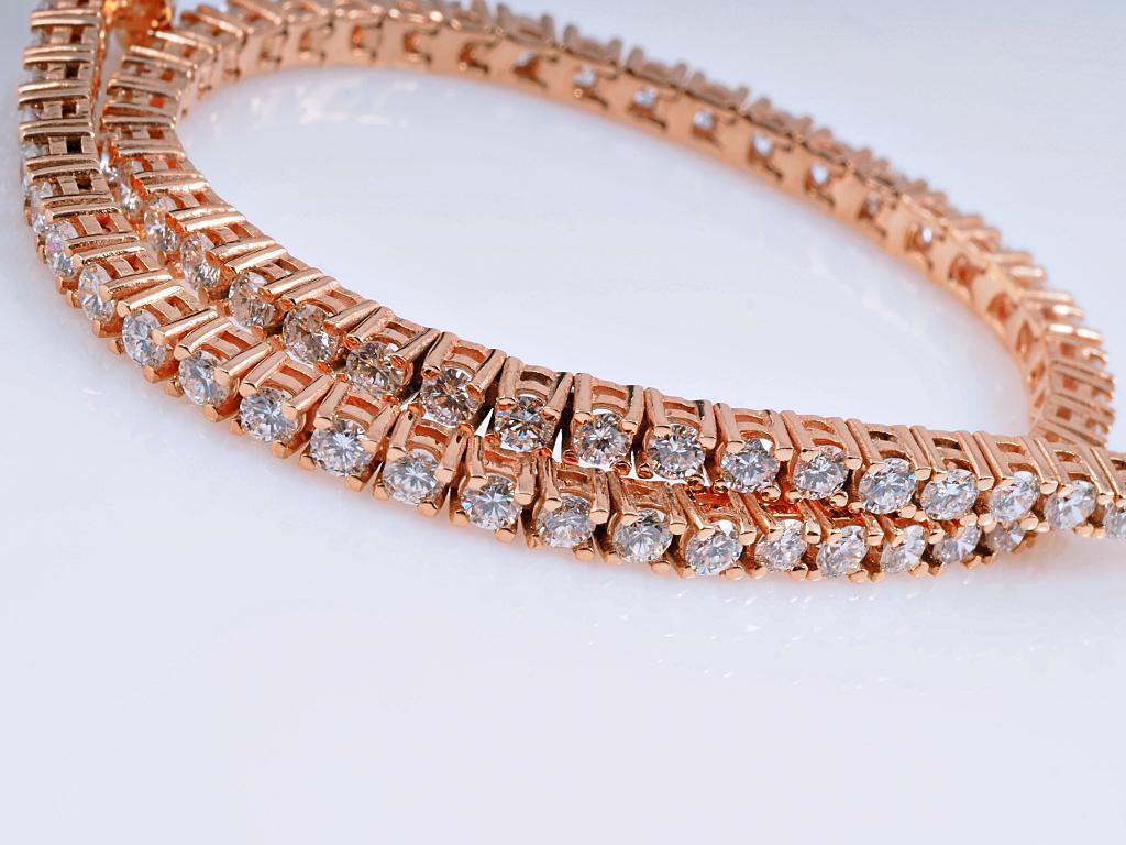 tennis armband 2 80 karat brillanten 750 gold neu wert ca eur ebay. Black Bedroom Furniture Sets. Home Design Ideas